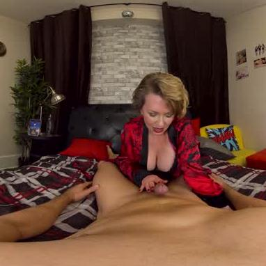 MILF Fucks Step-son Straight!!