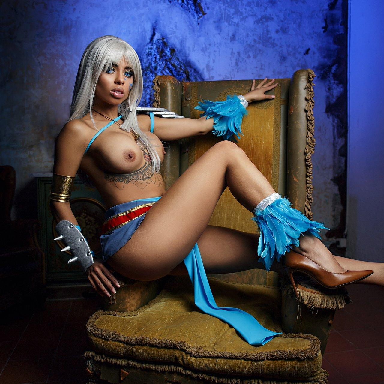 Kida From Atlantis VR Cosplay Porn