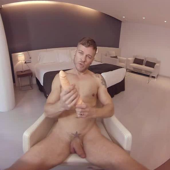 Matthew Anders Plays With His Favorite Dildo