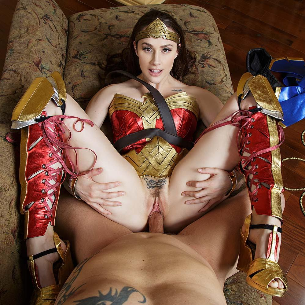 Wonder Woman VR Porn Cosplay