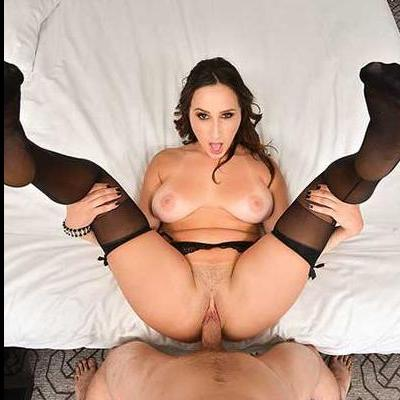Ashley of Naughty America Riding Dick